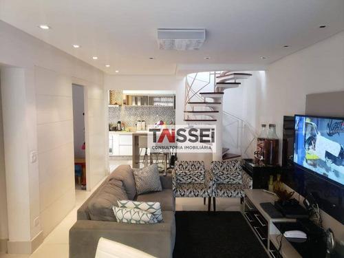 Cobertura Com 2 Dormitórios À Venda, 220 M² Por R$ 1.350.000,00 - Chácara Inglesa - São Paulo/sp - Co0141