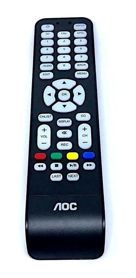 Controle Remoto Tv Aoc Led 3d Cr4304 Rc19944304/01 Original