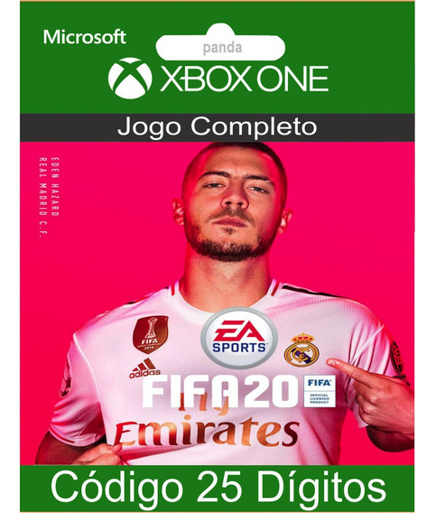 Fifa 20 Xbox One Codigo 25 Digitos Oficial
