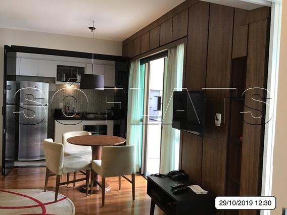 Maravilhoso Flat No Brooklin 2 Dormitórios, Próximo A Av. Jornalista Roberto Marinho - Sf27938
