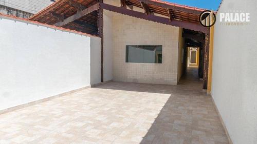 Imagem 1 de 30 de Casa Com 4 Dormitórios À Venda, 120 M² Por R$ 470.000,00 - Aviação - Praia Grande/sp - Ca0050
