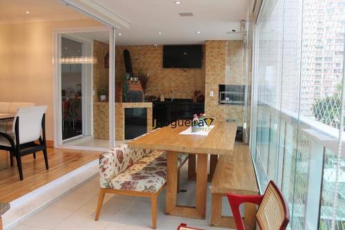 Apartamento Campo Belo , Empreendimento Com Quadra De Tenis !! - Ap15834