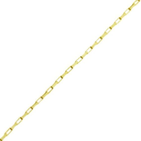 Corrente Ouro 18k Veneziana Longa 50 Cm 1,6gr Vj1697