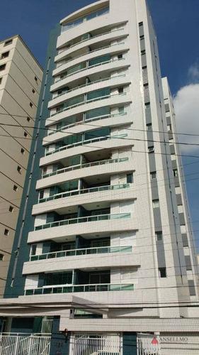 Apartamento Com 2 Dormitórios À Venda, 72 M² Por R$ 365.000,00 - Centro - São Bernardo Do Campo/sp - Ap1702