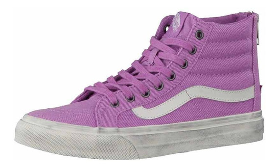 Vans Sk8 Hi Slim Zip - Exclusivo