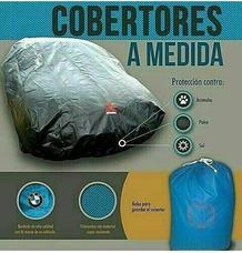 Forro Cobertor Para Vehiculos Motos Linea Blanca Parrilleras