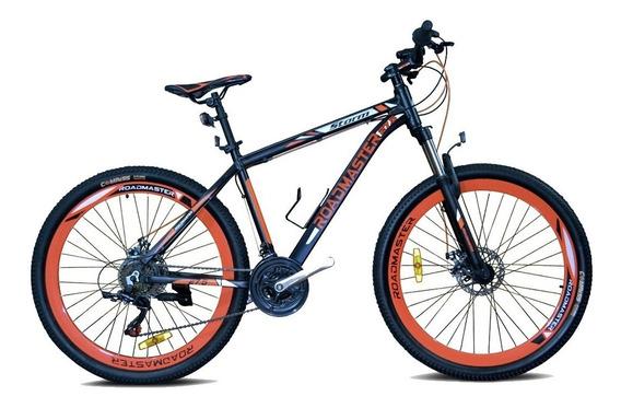 Bicicleta Roadmaster Storm 27,5 F.disco Bloq 21vel + Luces
