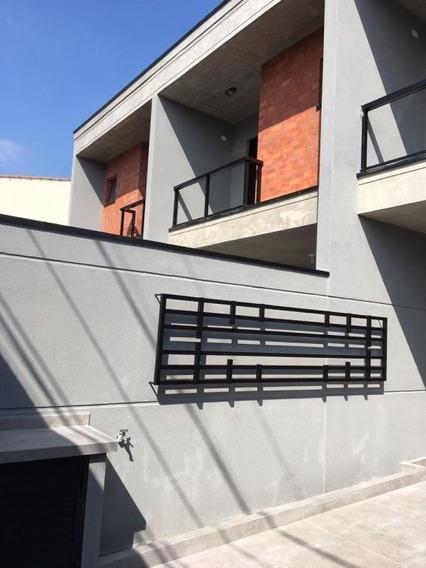 Sobrado Novo - Sala E Cozinha Em Conceito Aberto - 3 Dormitorios -localização Privilegiada - Mi80640