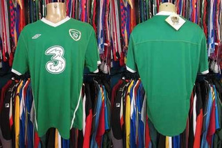 Irlanda 2010 Camisa Titular Tamanho G.