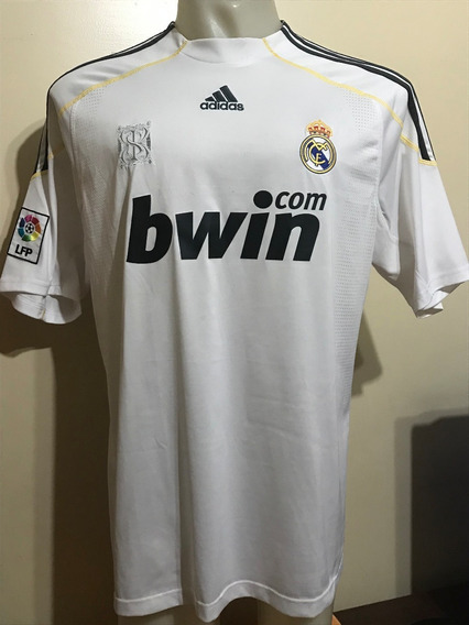 Camiseta Real Madrid España 2009 2010 Kaká #8 Brasil T. Xl