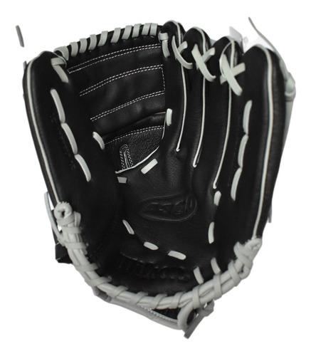 Imagen 1 de 8 de Guante Para Beisbol Wilson A360 12 Pulgadas Negro Gris