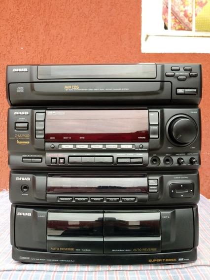 Som Aiwa Z -m2900 (apenas A Central)
