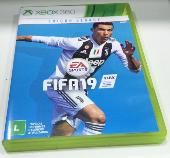 Fifa 19 Xbox 360 100% Em Português Semi Novo