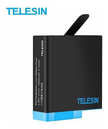 Bateria Telesin Gopro Hero 8, 7, 6, 5 Black/silver
