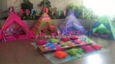 Alquiler Teepees Casitas Carpas Fiestas Pijamadas Picnic Te
