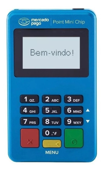 Maquininha Com Chip Passa Cartão Mini Point Maquina Credito