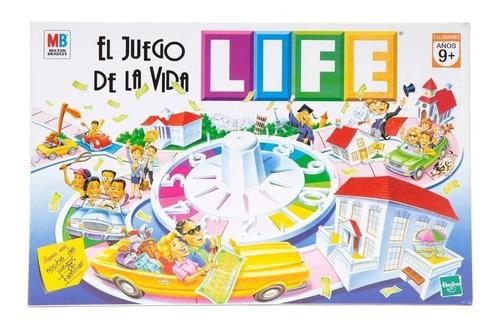 Imagen 1 de 4 de Juego de mesa El Juego de la Vida Life Hasbro