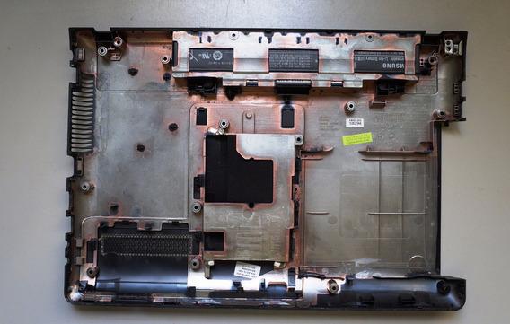 Carcaça Base Notebook Samsung 300e - Bateria De Brinde !!!