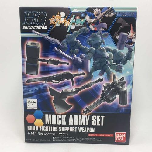 Imagen 1 de 3 de Bandai Gundam Build Custom Hg 1/144 Mock Army Set