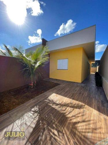 Imagem 1 de 13 de Casa Com 2 Dormitórios À Venda, 50 M² Por R$ 235.000,00 - Savoy - Itanhaém/sp - Ca4208