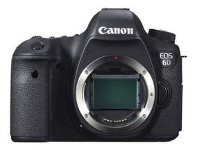 Câmera Digital Canon Eos 6d Wifi Full Frame 20.2mp+p/entrega