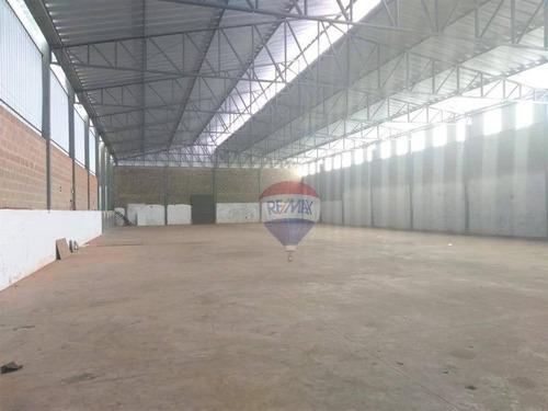 Barracão Para Alugar, 1300 M² Por R$ 8.000,00/mês - Vila Real - Botucatu/sp - Ba0019
