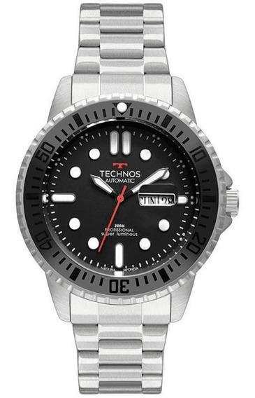 Relógio Technos Masculino Classic Automático 8205oj/1p