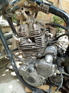 Motor Da Moto Yamaha Fazer 250cc Modelo 2008 Completo Porem