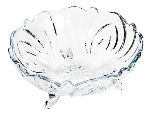 Bowl Em Cristal Lyor Flower 12x6cm