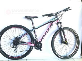 Bicicleta Venzo Primal Dama Rod- 29/ 24v D/hid Talle S-works