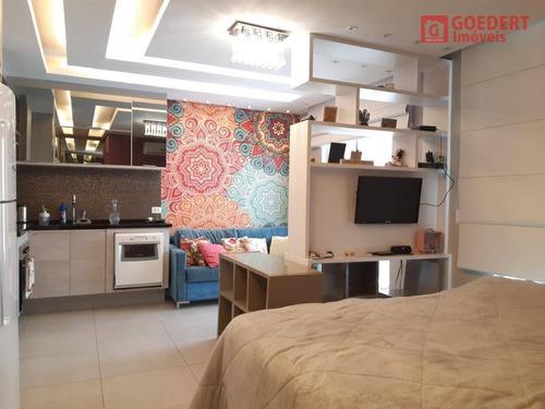 Studio Com 1 Dormitório À Venda, 38 M² Por R$ 288.000,00 - Vila Augusta - Guarulhos/sp - St0042