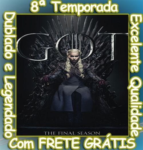 Game Of Thrones Serie (8ª Temporada Completa) +frete Grátis