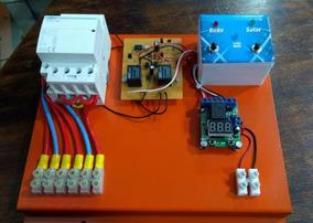 Automação Automático Entre Energia Solar E Rede 110v Ou 220v