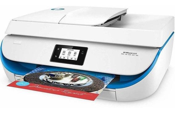 Impressora Multifuncional Hp Officejet 4650 Branco Wifi