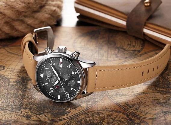 Relógio Ochstin Pulseira De Couro- Promoção