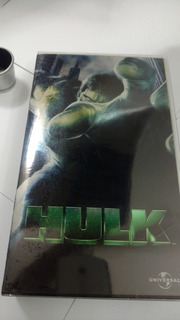 Película Hulk, Formato Vhs, Doblada Al Español, Vintage