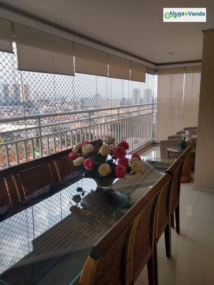 Apartamento Com 3 Dormitórios, 1 Suíte E 2 Vagas À Venda No Condomínio Parque Clube, 91 M² Por R$ 570.000 - Vila Augusta - Guarulhos/sp - Ap0137