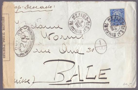 Envelope Censurado Datado De 1908 - 19011922