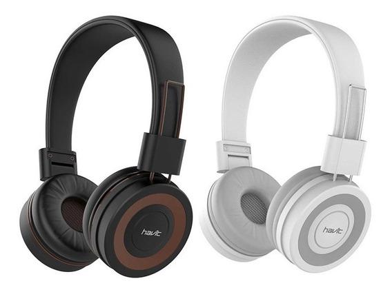 Headphone Hi-fi Alto Padrão Havit P2 Mic Hv-h2218d + Frete