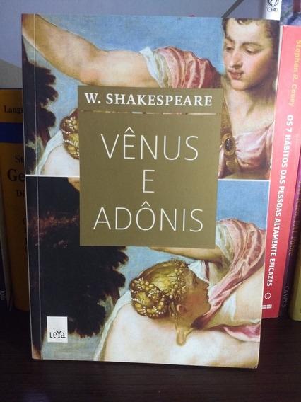 Vênus E Adônias.W. Shakespeare