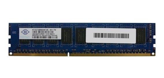 Memoria 1gb Ddr3 1066mhz Pc3-8500e Ecc Udimm Servidor Server