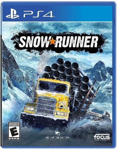 Ps4 Snowrunner / Fisico