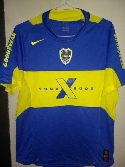 Camiseta De Boca Juniors Centenario 1905-2005 Nike