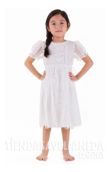 Vestido Nena, Manguitas Brishka N-0092
