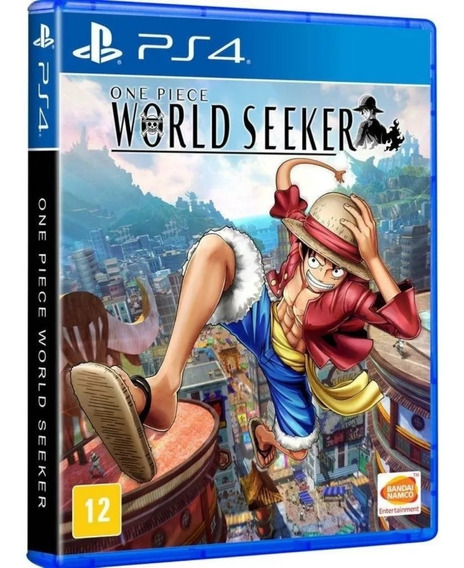 One Piece World Seeker Ps4 Mídia Física Lacrado Leg Pt Br