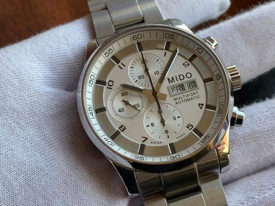 Relógio Mido Multifort Chronograph Automatic M0056141103701