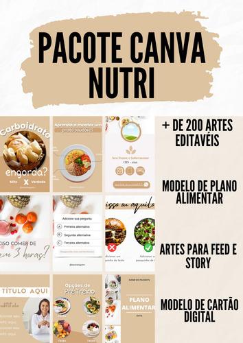 Pacote Canva Nutri