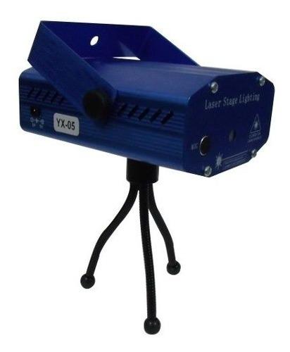 Imagem 1 de 6 de Mini Laser Stage Lighting Projetor Holográfico Para Festas