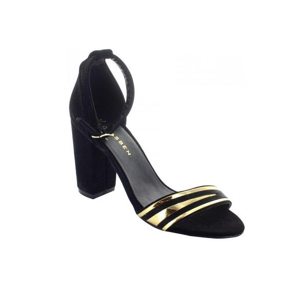 Zapatilla Para Mujer Clasben 160503-040546 Color Negro