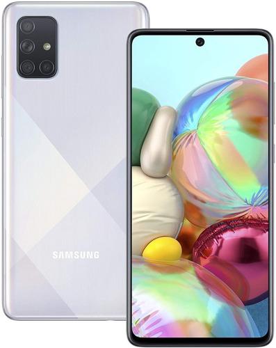 Samsung Galaxy A71 Dual Sim 128gb 6gb Ram Prism Crush Silver